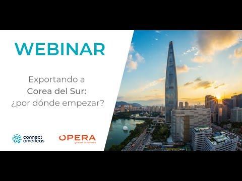 WEBINAR: Exportando a Corea del Sur: ¿por dónde empezar?