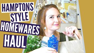 Affordable Hamptons Style Home Decor Haul!