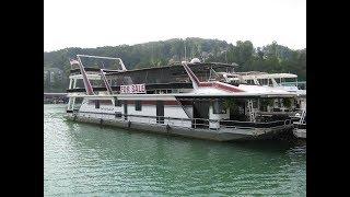 1997 Sumerset 20 X 93 Custom-Built Houseboat On Norris Lake TN - Not For Sale