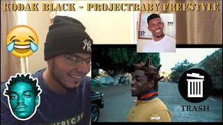 Kodak Black - ProjectBaby Freestyle | Reaction!