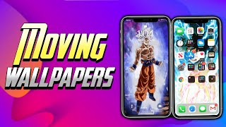 How To Get Moving Wallpapers On iPhone! Get Animated Wallpapers On iOS 13 Free! No Force Touch! JB