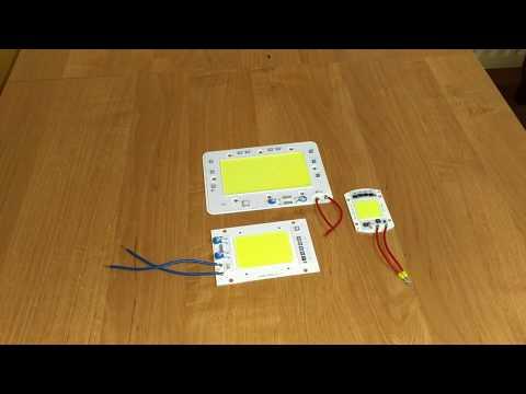 Czy warto kupić? Test LED COB 50W 100W Floodlight COMPARISON