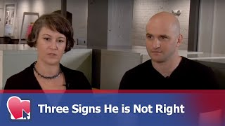 Three Signs He is Not Right - by Mike Fiore (for Digital Romance TV)