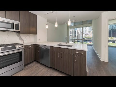 Townhome 401, 2-bedrooms, 2-baths at Streeterville's new 465 North Park