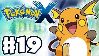 Raichu  - (Pokémon) - Pokemon X and Y - Gameplay Walkthrough Part 19 - Pikachu Evolves into Raichu! (Nintendo 3DS)