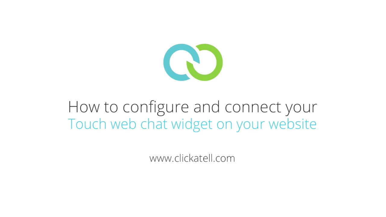 Clickatell Tutorial - Configure Clickatell Touch live web chat