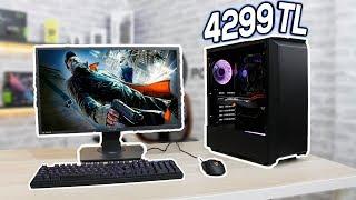 4299 TL'ye Monitör Dahil 8.Nesil Intel Sistem Toplama ve Oyun Testi - 2017 -