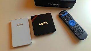 Nexbox A95X шустрый малый, оптимальный Android TVBox для вашего дома, который вообще не обламывает!