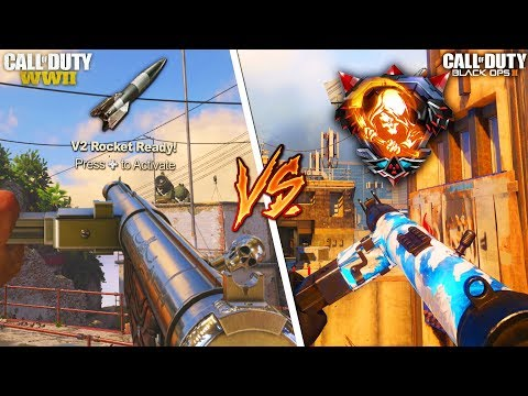 STEN vs STEN... DLC WEAPON SHOWDOWN 😱 (COD WW2 VS. BLACK OPS 3)