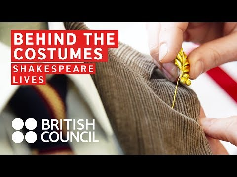 Shakespeare's Julius Caesar - behind the costumes | Shakespeare Lives