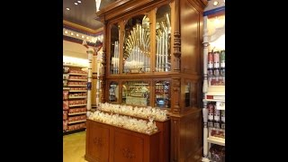 Welte Orchestrion Pipe Organ at the Penny Arcade/Candy Palace at Disneyland!