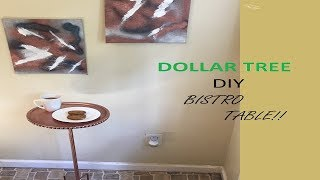 Dollar Tree Diy Side Table Country Style