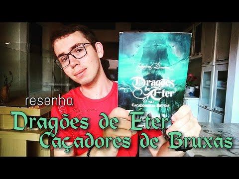 RESENHA: Dragões de Éter - Caçadores de Bruxas: Raphael Draccon