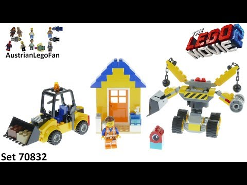 Vidéo LEGO The LEGO Movie 70832 : La boîte à construction d'Emmet !