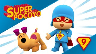 Super Pocoyo takes care of his pet, follow his lead!