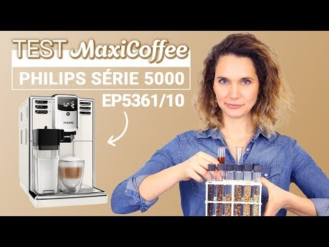 PHILIPS SERIE 5000 Edition -OneTouch EP5361/10   Machine à café grain   Le Test MaxiCoffee