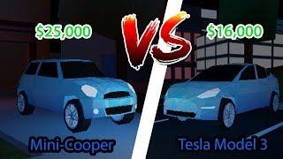 NEW CAR *TESLA ROADSTER 2020* UPDATE IN JAILBREAK! (Roblox Jailbreak