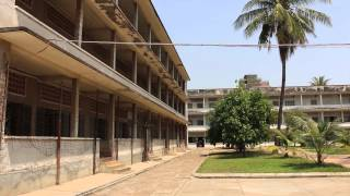 preview picture of video 'Visit to Tuol Sleng Genocide Museum (SR21), Phnom Penh, Cambodia'