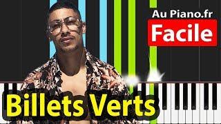 Maes Billets Verts Piano Tuto Facile Instru Paroles Aupiano.fr