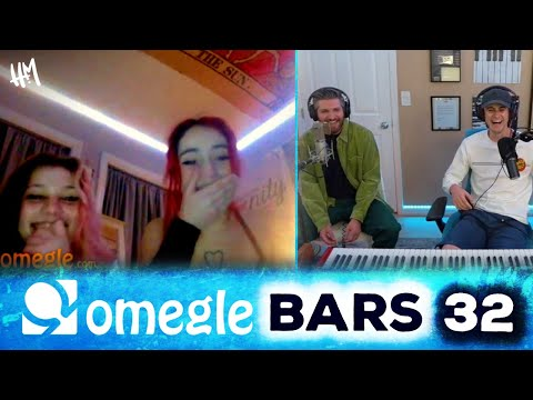 Pianist & Freestyle Rapper BLOW MINDS on Omegle ft. Marcus Veltri