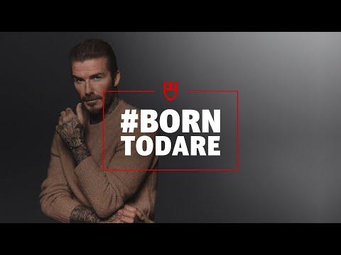 Tudor is #BornToDare with David Beckham