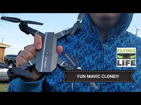 2017 Best DJI Mavic Clone 8807HD Drone Review