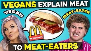 Can Vegans Explain Meat Dishes To Meat-Eaters?