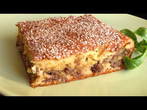 Lijevana Pita s Mesom / Cast-Iron Ground Beef Pie