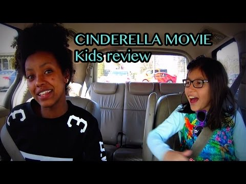 CInderella Movie 2015 (kids movie review)