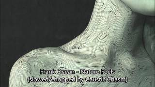 Frank Ocean - Nature Feels (slowed chopped) download in description