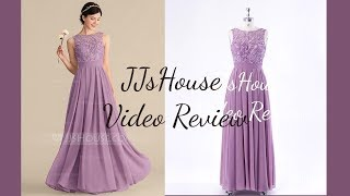 Princess Chiffon Bridesmaid Dress With Ruffles - JJsHouse