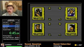 Cowboy Kid NES speedrun in 26:31 by Arcus