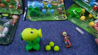 распаковка посылки, товары алиэкспресс растения против зомби, plants vs Zombies