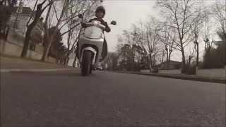 preview picture of video 'GoPro: En scooter Peugeot 50cc dans le Vésinet'