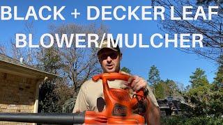 Black + Decker Leaf Blower & Mulcher