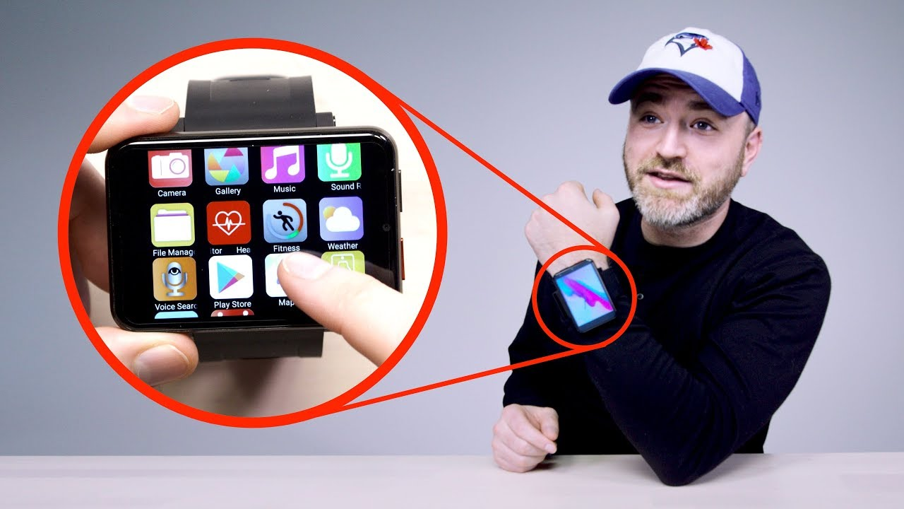 Unboxing The World's Biggest Smartwatch thumbnail