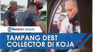 Tampang Sejumlah Debt Collector yang Kepung Anggota TNI di Jakarta Utara, Nyaris Rampas HP Penumpang