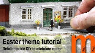 Easter theme scenery tutorial
