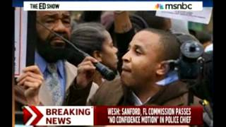 3.21.12 Executive Director Rashad Robinson at NYC rally for Trayvon Martin