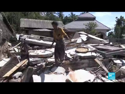 Special report: France 24 follows an NGO offering relief after the earthquake in Indonesia