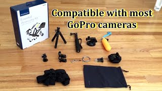 Unboxing Insignia Essential Accessory Kit for GoPro Action Camera