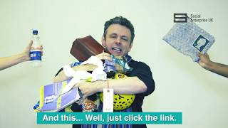 Michael Sheen wants to know where you buy your socks