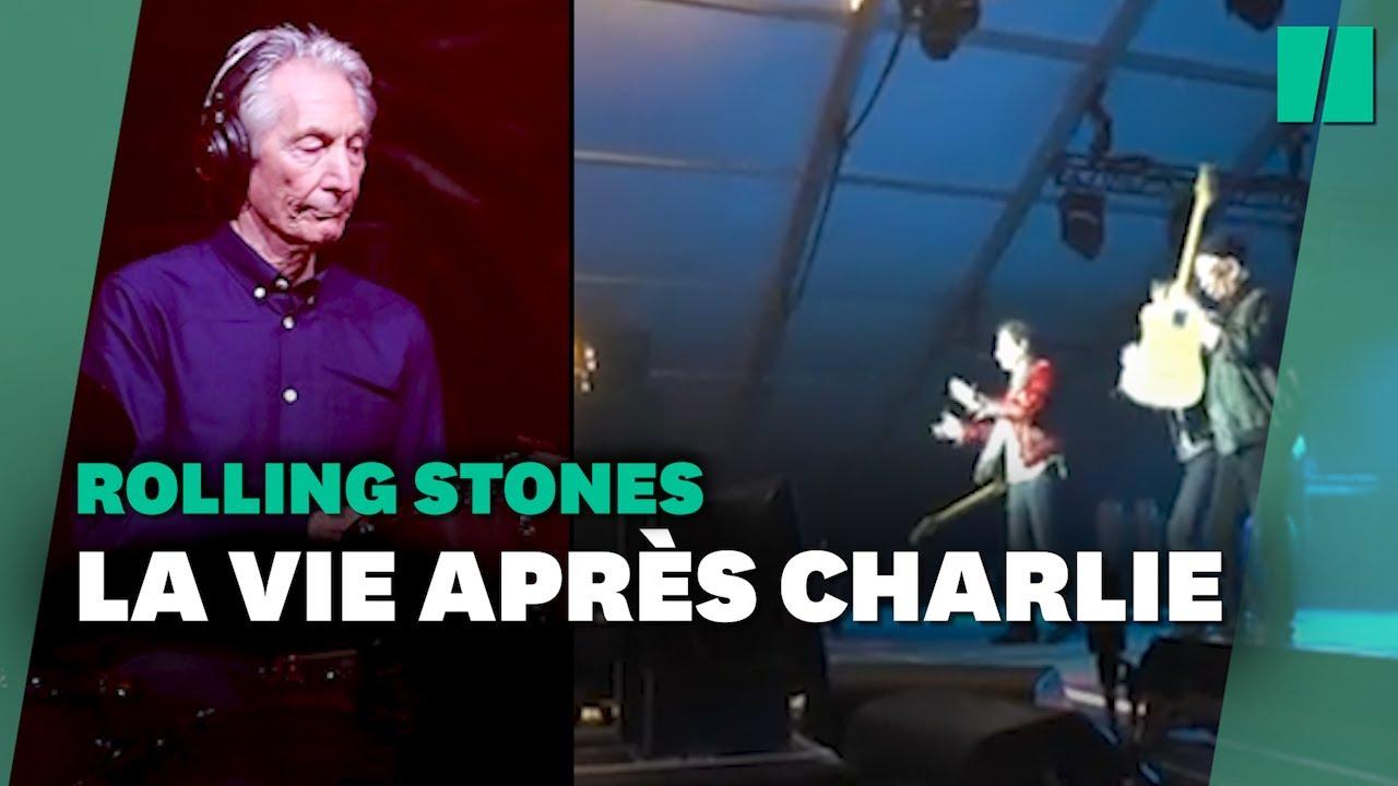 Les Rolling Stones ont rendu hommage à Charlie Watts lors du premier show depuis son décès