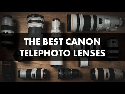 Best Canon Telephoto Lenses: 2018 Camera Lens Comparison