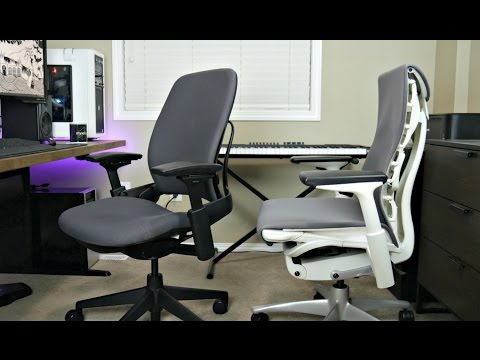 Steelcase Leap V2 Ergonomic Chair vs Herman Miller Embody | Best Office/Gaming Chair Review