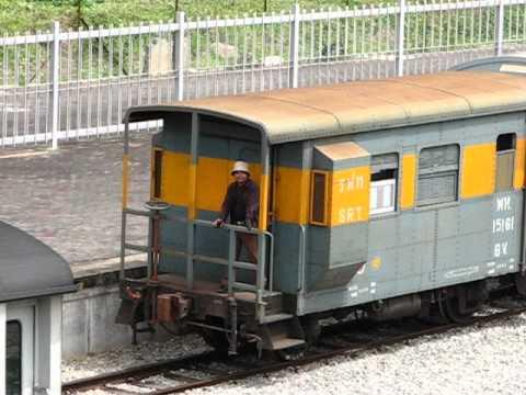 SRT loco shunting at padang besar station