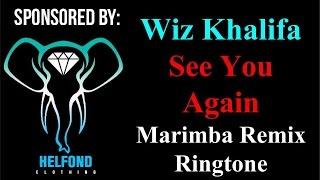 Wiz Khalifa - See You Again Marimba Ringtone and Alert