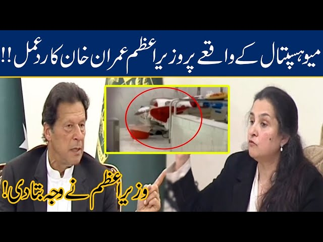 PM Imran Khan Reaction To Heartbreaking Incident At Mayo Hospital