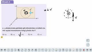 Eğitim Vadisi AYT Fizik 10.Föy Çembersel Hareket 1 (Açısal Momentum) Konu Anlatım Videoları