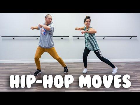 Hip Hop For Beginners- 5 Basic Moves - YouTube